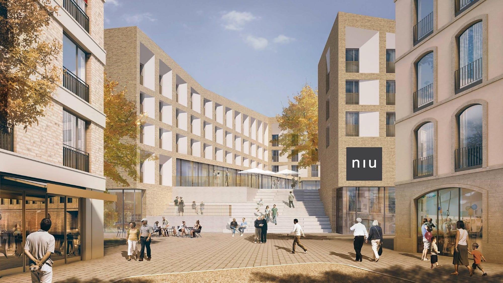 Alles Gute: niu Hotel der Reggeborgh Invest und asenticon in Potsdam gezeichnet